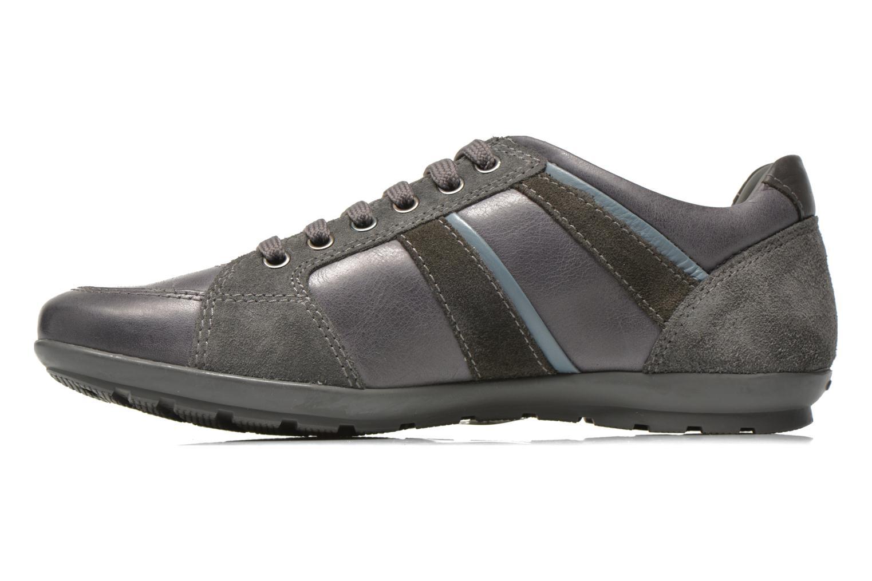 Sneaker Geox U SYMBOL A U52A5A grau ansicht von vorne
