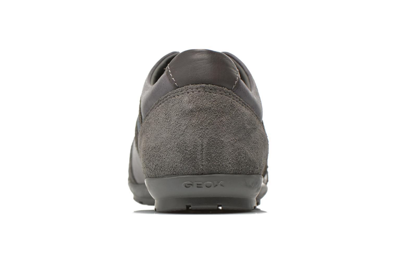 Sneaker Geox U SYMBOL A U52A5A grau ansicht von rechts