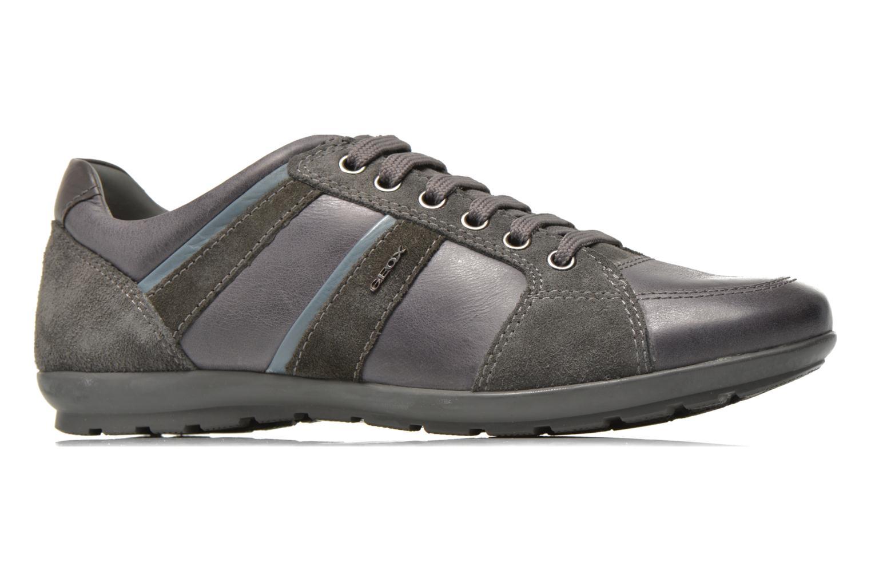 Sneakers Geox U SYMBOL A U52A5A Grijs achterkant