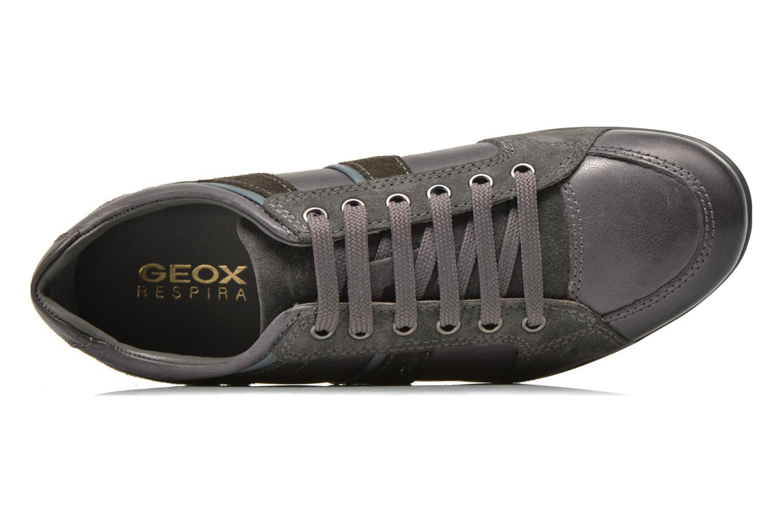 Sneaker Geox U SYMBOL A U52A5A grau ansicht von links