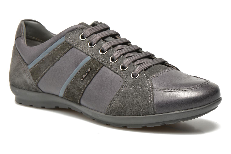 Sneaker Geox U SYMBOL A U52A5A grau detaillierte ansicht/modell