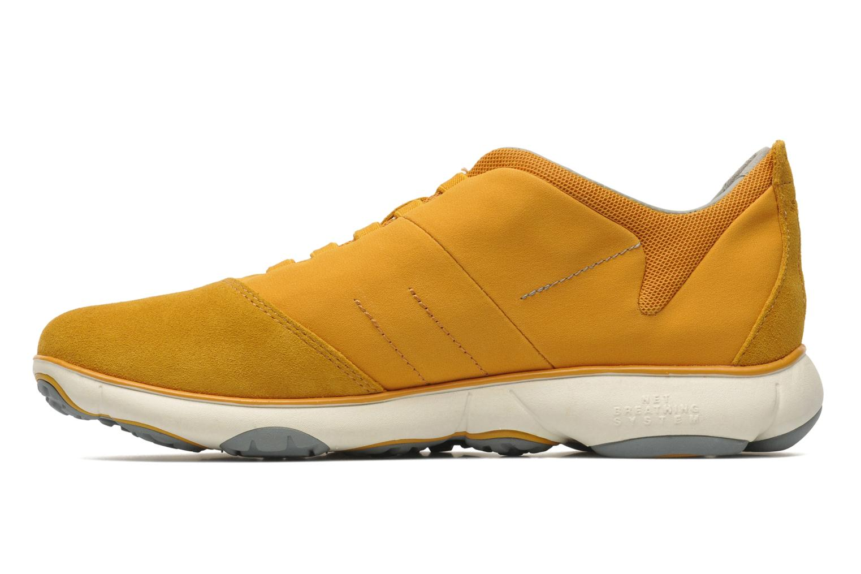 Sneaker Geox U NEBULA B U52D7B gelb ansicht von vorne