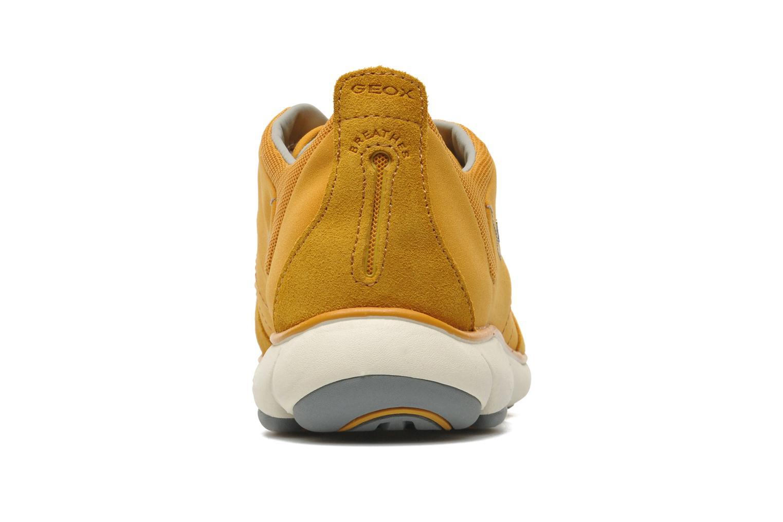 Sneaker Geox U NEBULA B U52D7B gelb ansicht von rechts