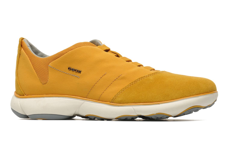 Sneaker Geox U NEBULA B U52D7B gelb ansicht von hinten