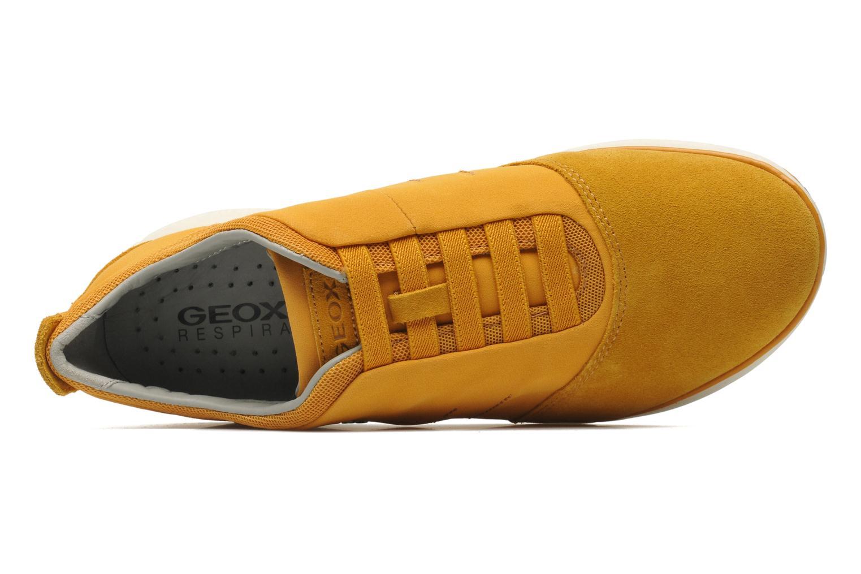 Sneakers Geox U NEBULA B U52D7B Geel links