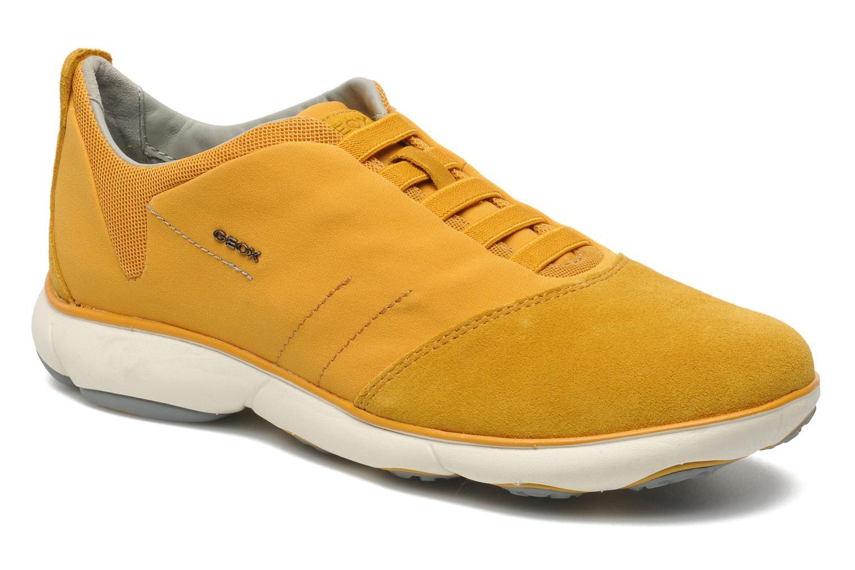Sneakers Geox U NEBULA B U52D7B Geel detail