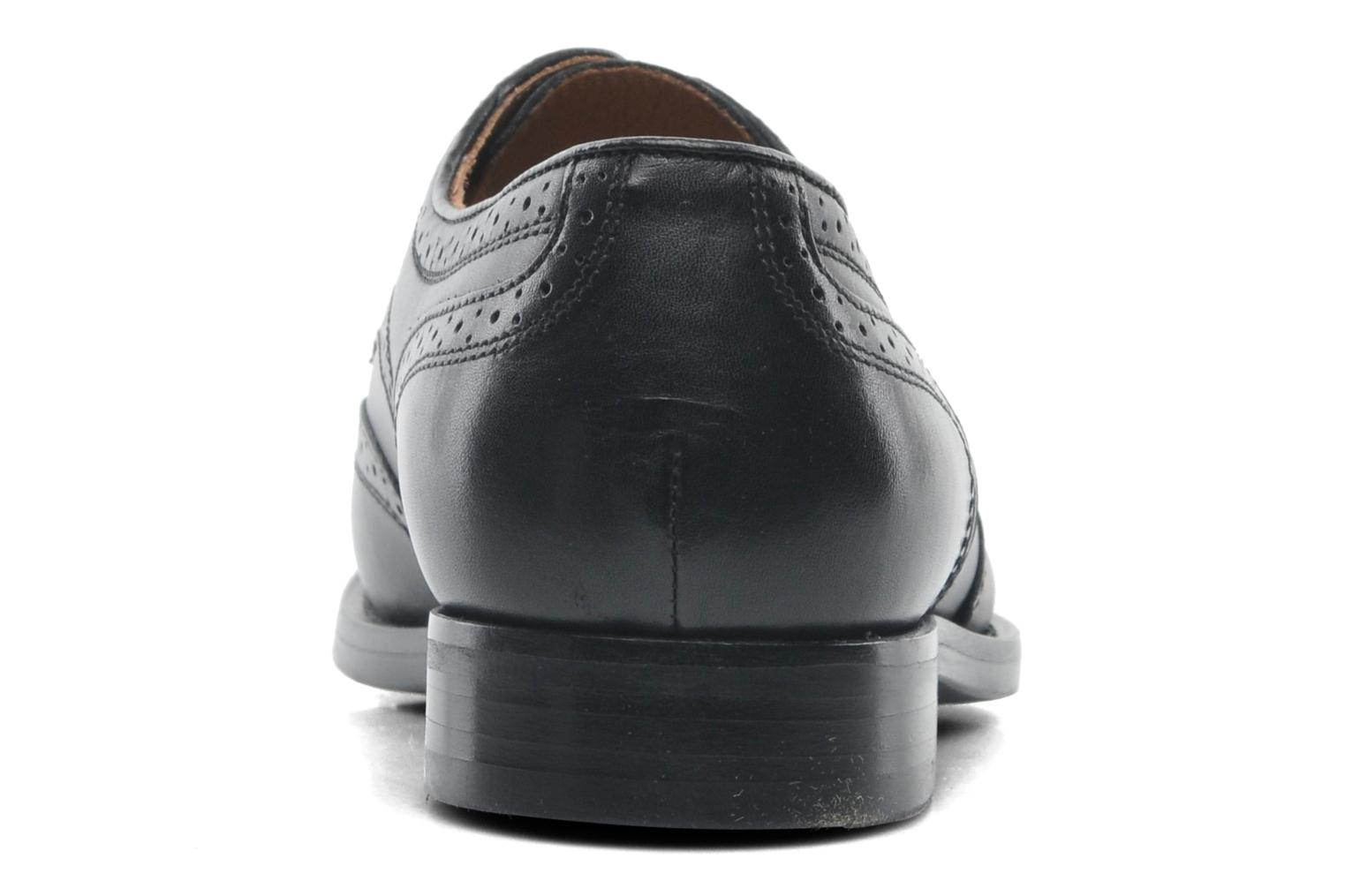 Lace-up shoes Geox U HAMPSTEAD D U52E3D Black view from the right