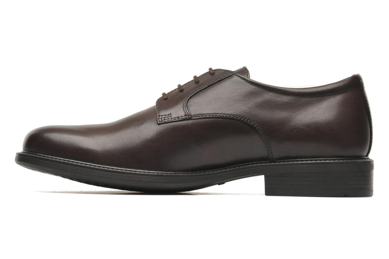 Chaussures à lacets Geox U CARNABY D U52W1D Marron vue face