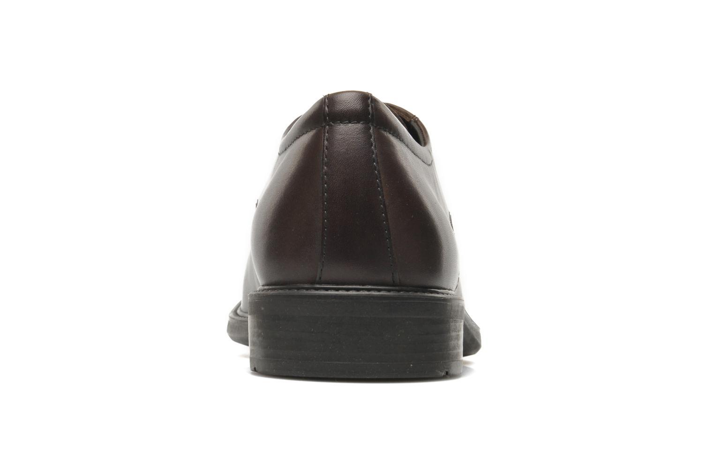 Chaussures à lacets Geox U CARNABY D U52W1D Marron vue droite