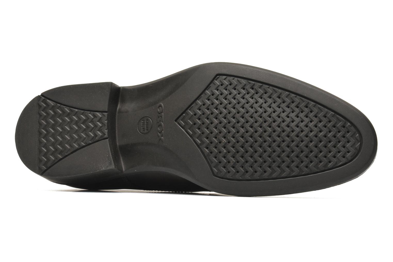 Chaussures à lacets Geox U CARNABY D U52W1D Marron vue haut