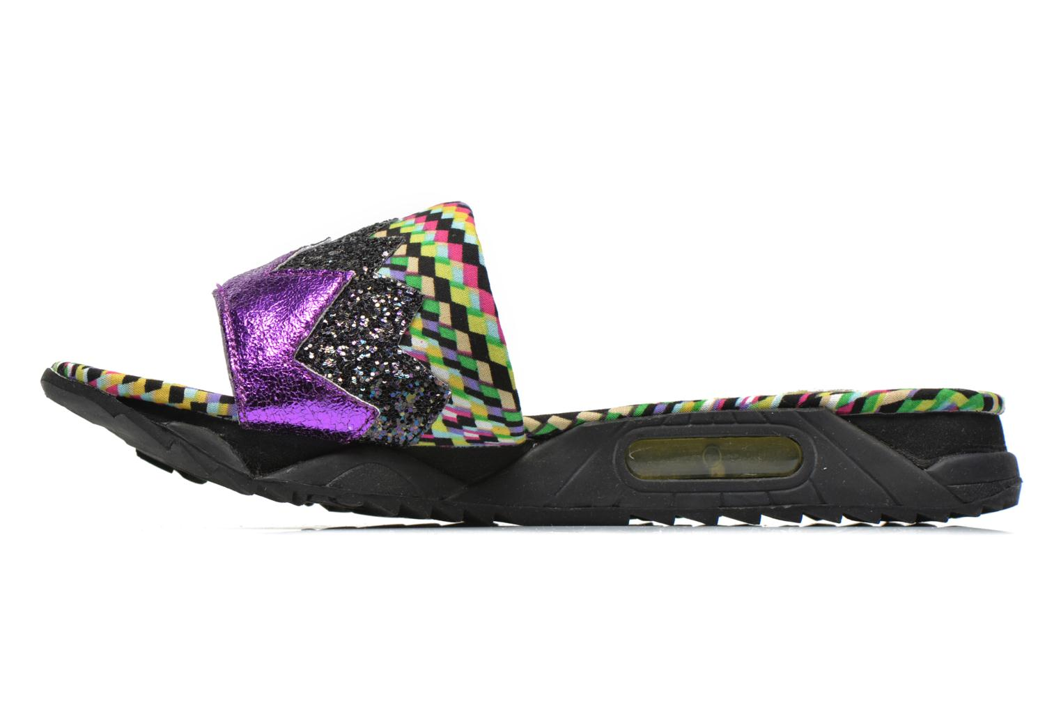 Mules et sabots Irregular Choice ICED Slide Away PE15 Multicolore vue face