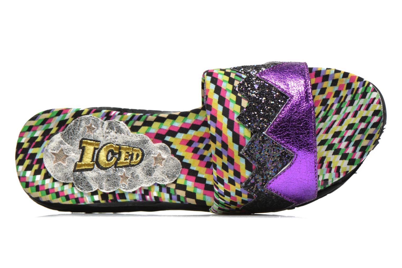 ICED Slide Away PE15 Purple Glitter/PU
