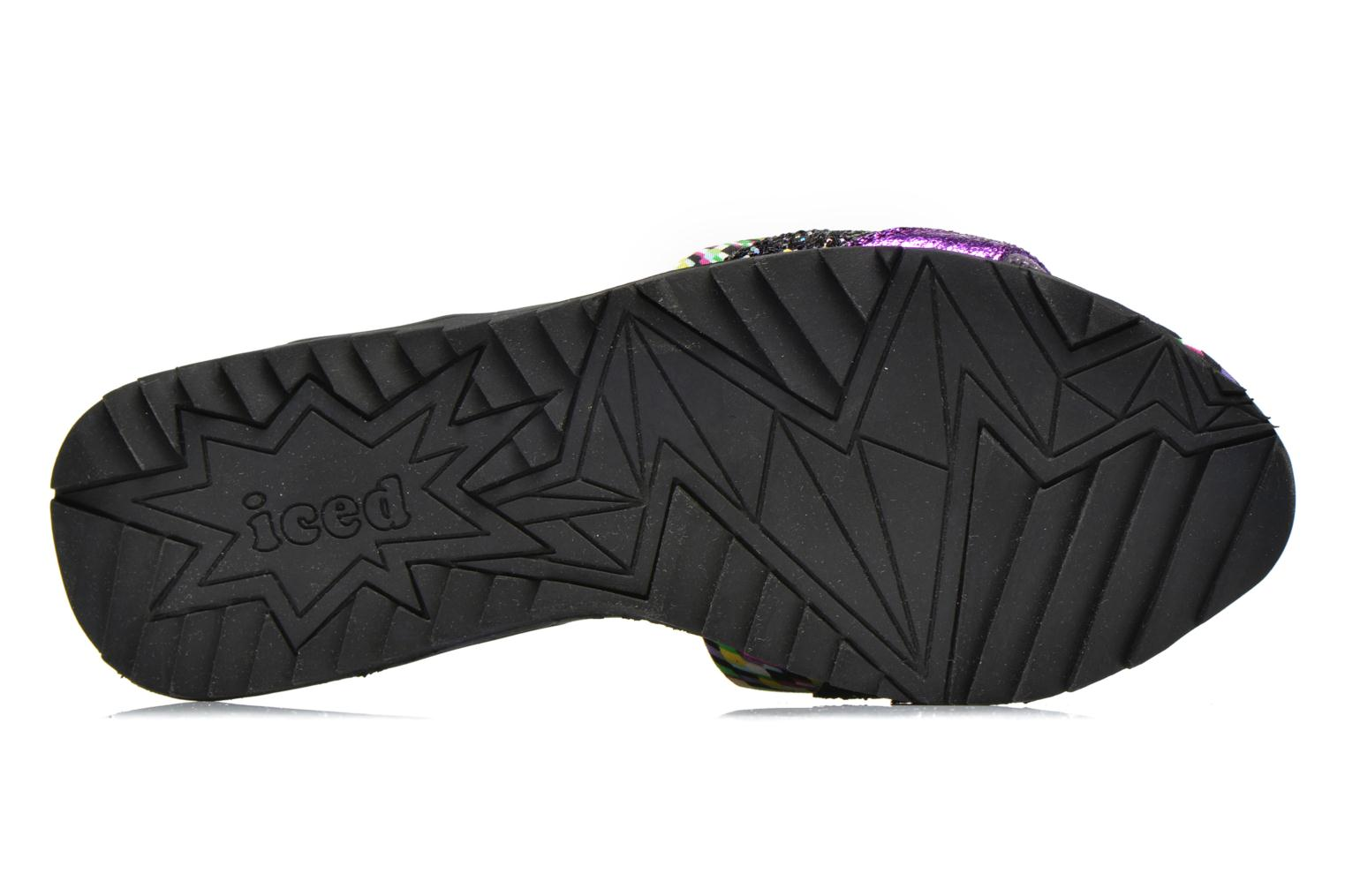 ICED Slide Away PE15 Purple Glitter/PU