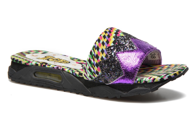 Wedges Irregular Choice ICED Slide Away PE15 Multicolor detail