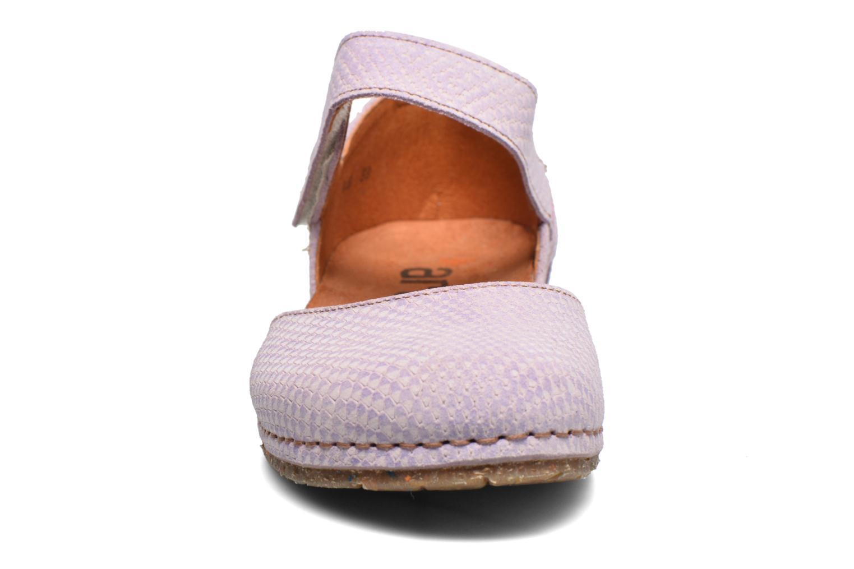 Sandales et nu-pieds Art Creta 448 Violet vue portées chaussures
