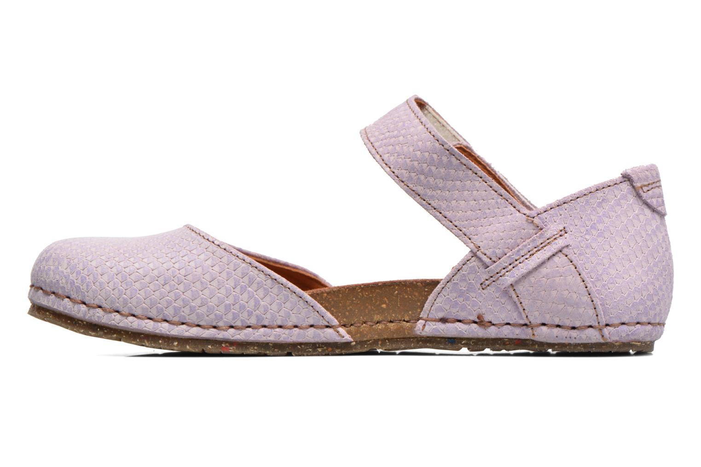 Sandales et nu-pieds Art Creta 448 Violet vue face