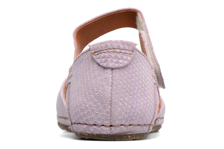 Sandales et nu-pieds Art Creta 448 Violet vue droite