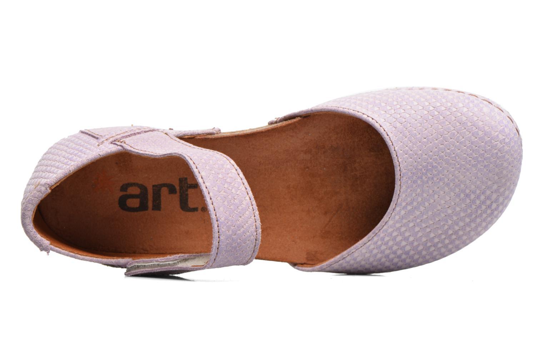 Sandales et nu-pieds Art Creta 448 Violet vue gauche