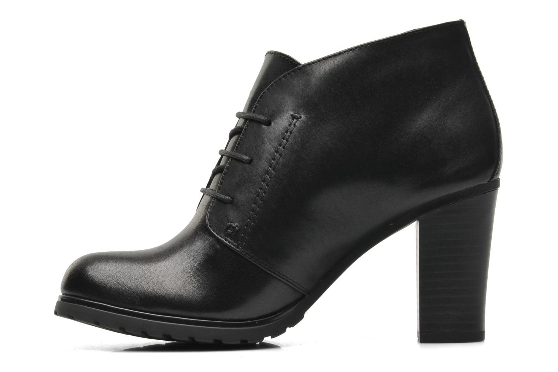 Stiefeletten & Boots Geox Donna Trish ABX A D44Y1A schwarz ansicht von vorne