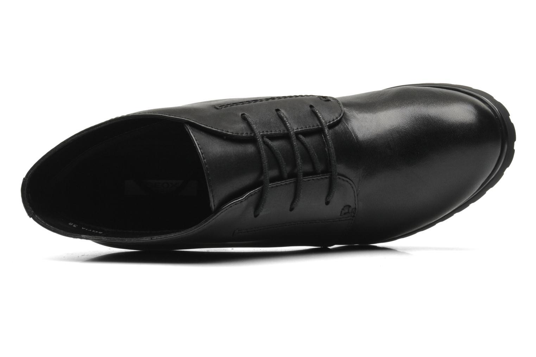 Stiefeletten & Boots Geox Donna Trish ABX A D44Y1A schwarz ansicht von links