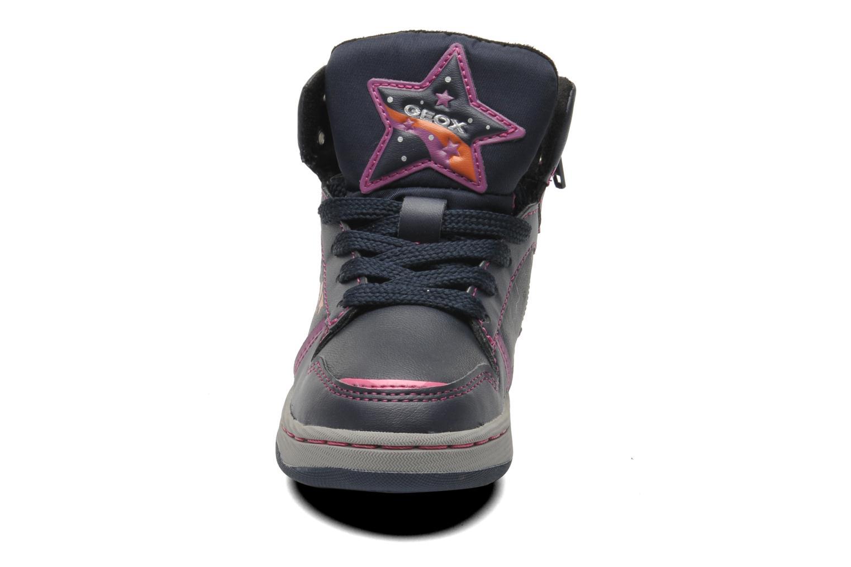 Baskets Geox J Maltin B Girl ABX J44A3A Multicolore vue portées chaussures