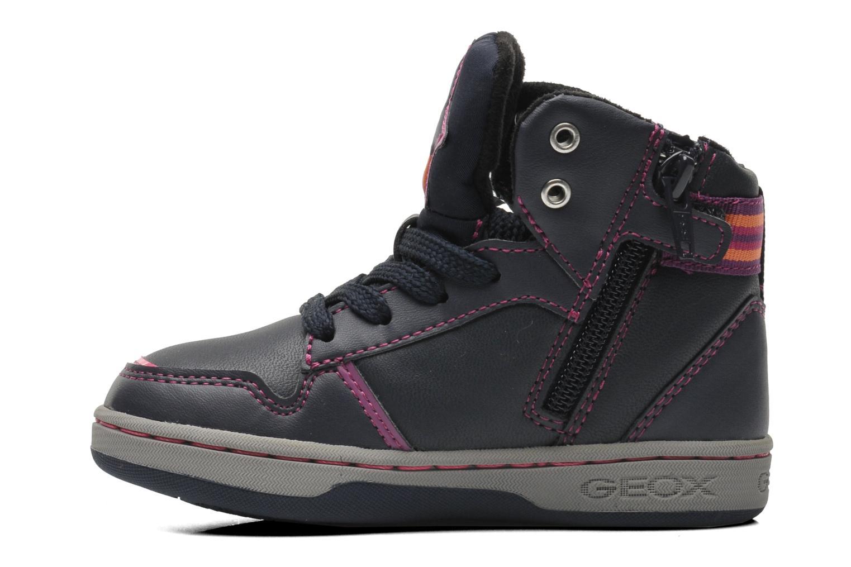 Sneaker Geox J Maltin B Girl ABX J44A3A mehrfarbig ansicht von vorne