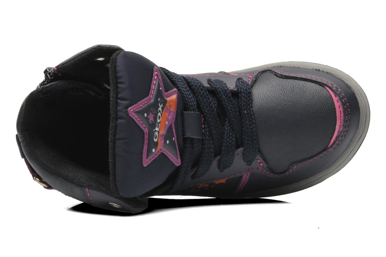 Sneaker Geox J Maltin B Girl ABX J44A3A mehrfarbig ansicht von links