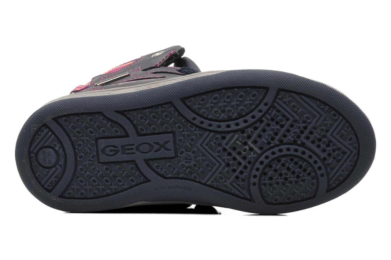Sneaker Geox J Maltin B Girl ABX J44A3A mehrfarbig ansicht von oben