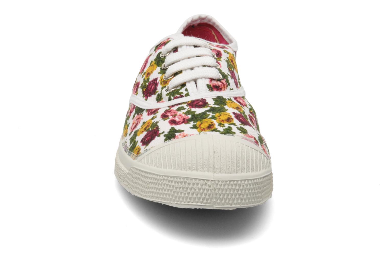 Baskets Bensimon Tennis Paco Chicano Fleurs Multicolore vue portées chaussures