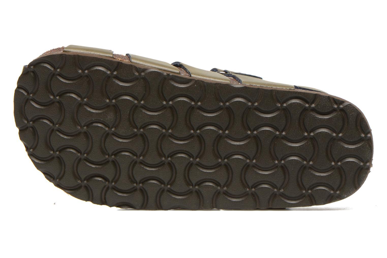 Sandales et nu-pieds Kickers MAGIFLO Vert vue haut
