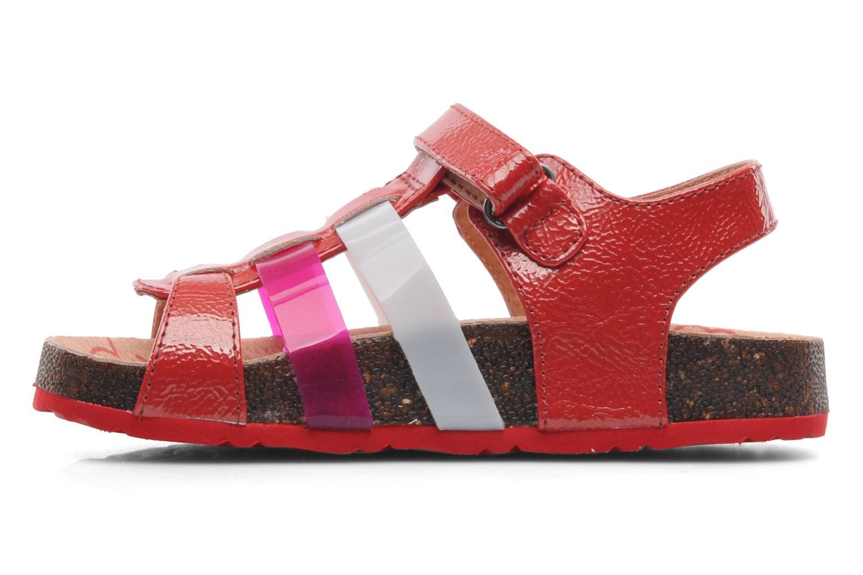 Sandales et nu-pieds Kickers MAGIPLAY Rouge vue face