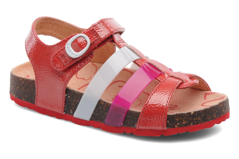 Sandales et nu-pieds Kickers MAGIPLAY Rouge vue détail/paire