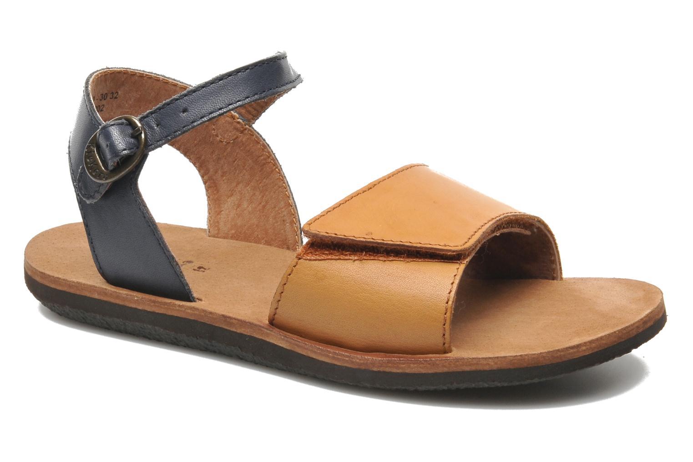 Sandaler Kickers SPARTINY Beige detaljeret billede af skoene