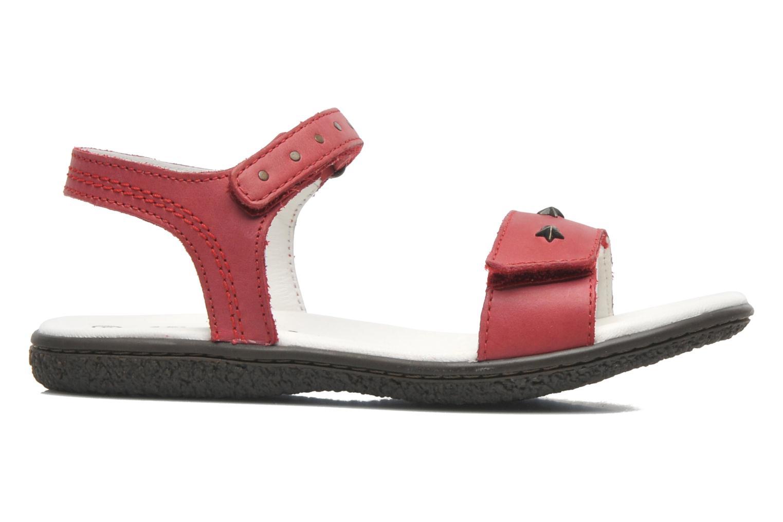 Sandalen Kickers VENICE1 rot ansicht von hinten