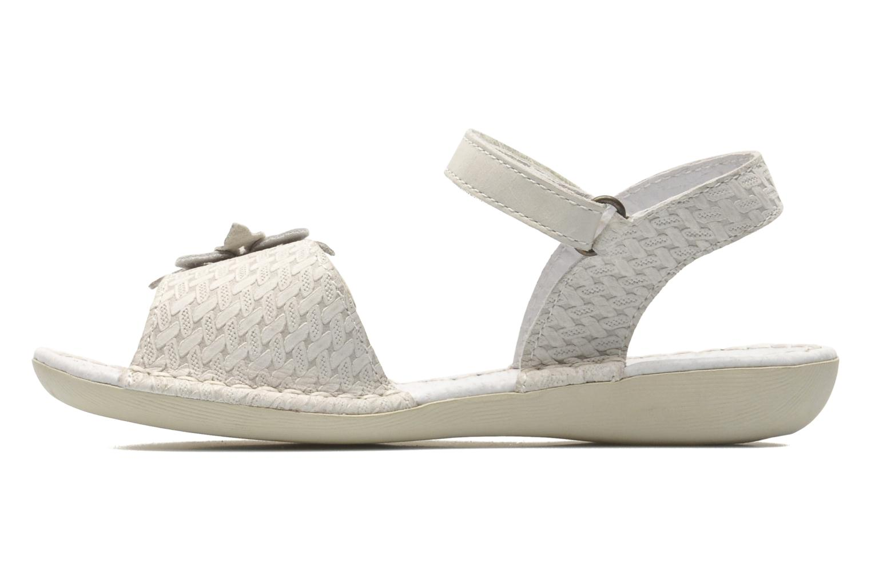 Sandales et nu-pieds Kickers EVANA Blanc vue face