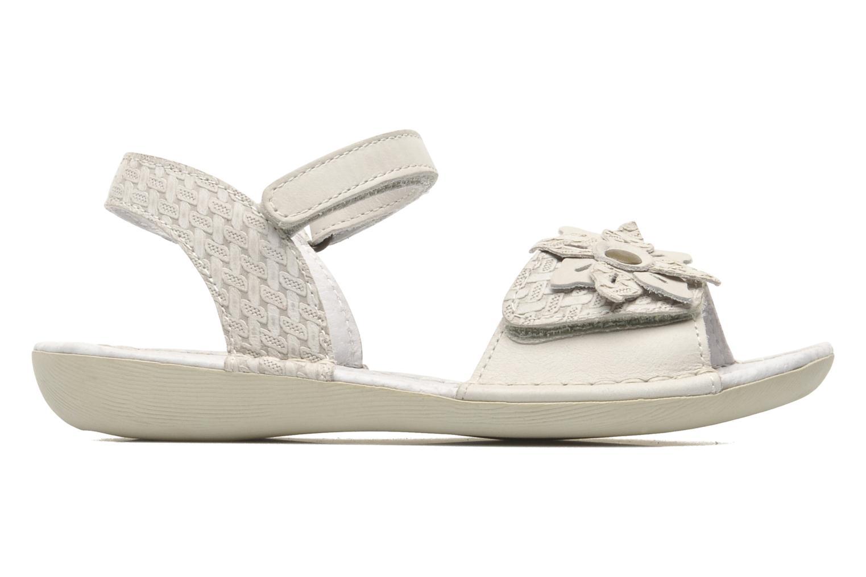 Sandales et nu-pieds Kickers EVANA Blanc vue derrière