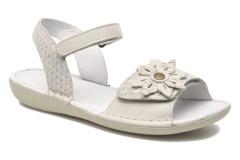 Sandales et nu-pieds Kickers EVANA Blanc vue détail/paire