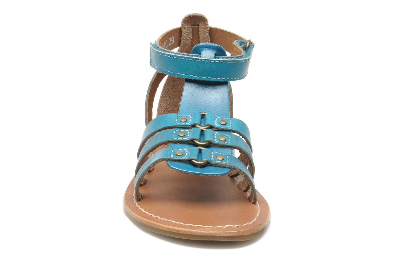 Sandalen Kickers DIXHUIT blau schuhe getragen