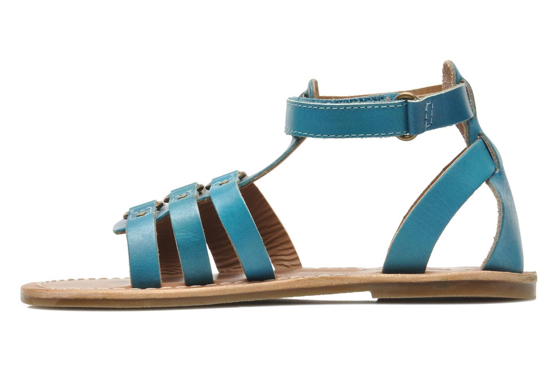 Sandalen Kickers DIXHUIT blau ansicht von vorne
