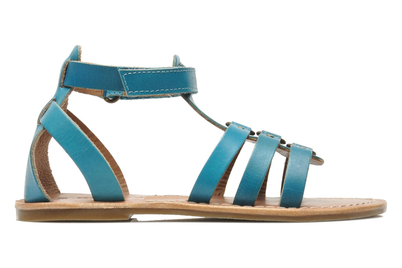 Sandalen Kickers DIXHUIT blau ansicht von hinten