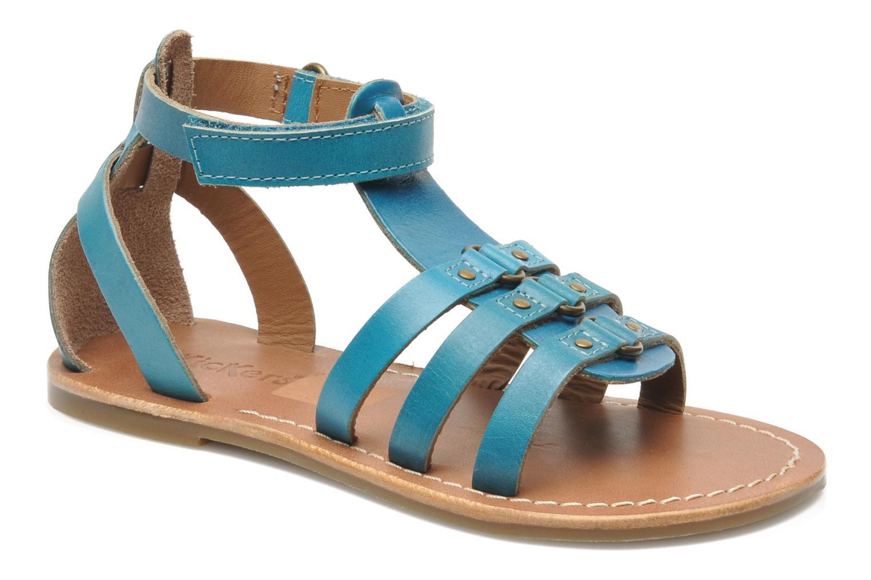Sandalen Kickers DIXHUIT blau detaillierte ansicht/modell