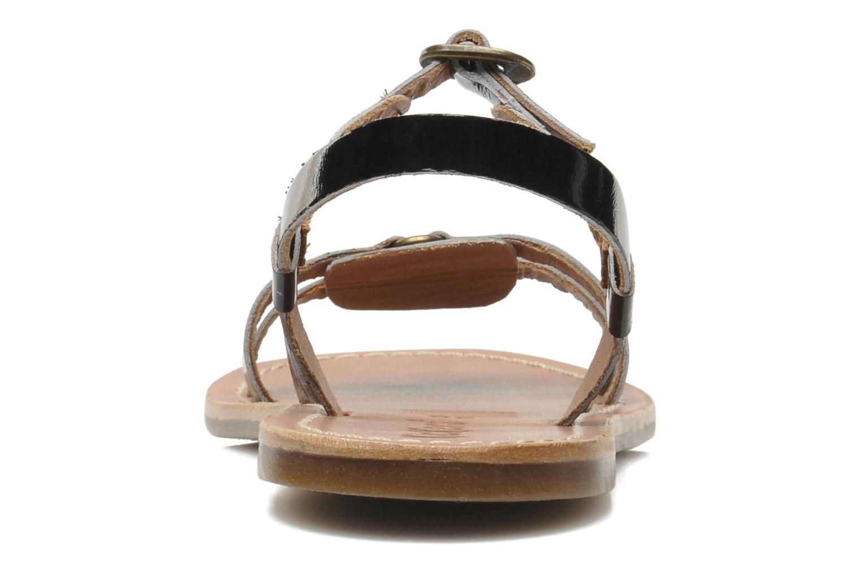 Sandales et nu-pieds Kickers DIXNEUF Noir vue droite