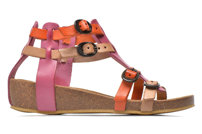 Sandales et nu-pieds Kickers BOMDIA Rose vue derrière