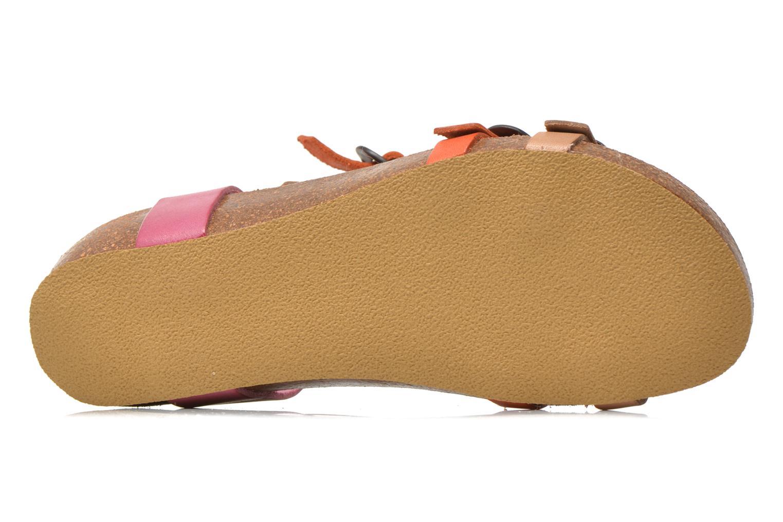 Sandales et nu-pieds Kickers BOMDIA Rose vue haut