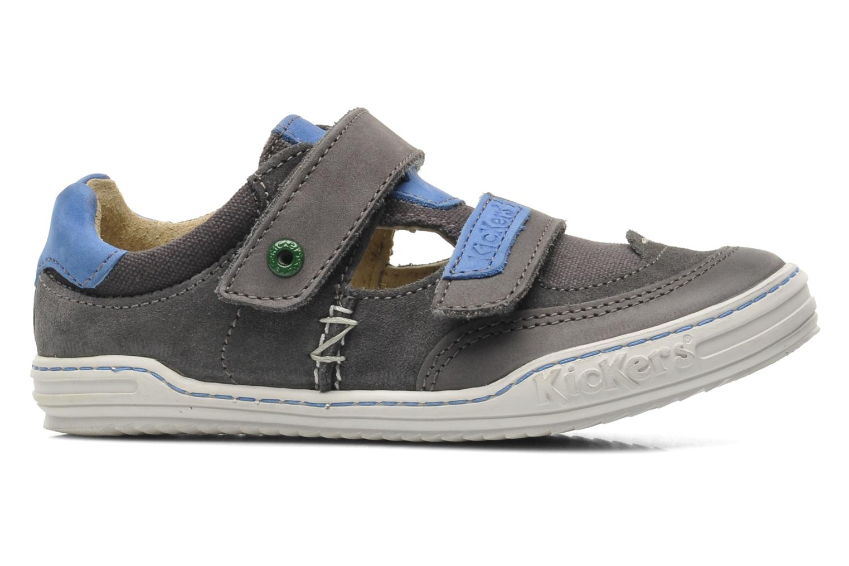Chaussures à scratch Kickers JYKROI Gris vue droite