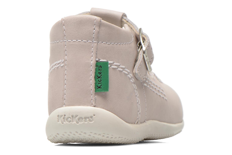 Bottines et boots Kickers BONISTA Gris vue droite