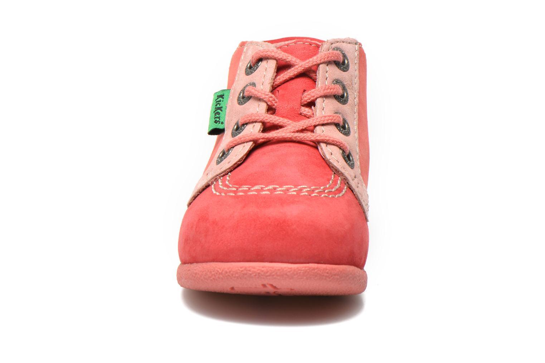 Bottines et boots Kickers Babystan Rose vue portées chaussures