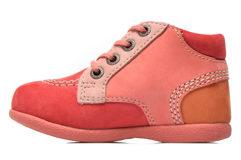 Stiefeletten & Boots Kickers Babystan rosa ansicht von vorne
