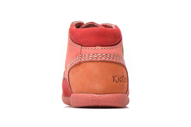 Stiefeletten & Boots Kickers Babystan rosa ansicht von rechts