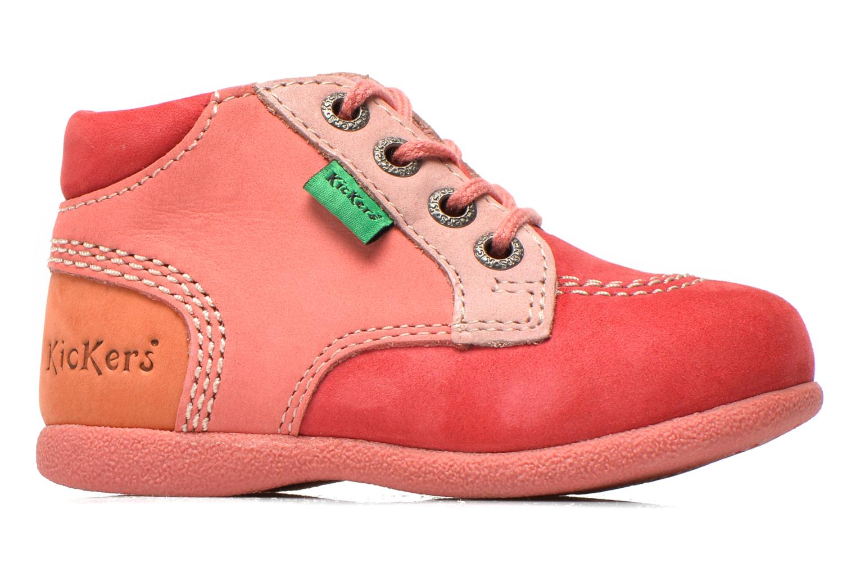 Stiefeletten & Boots Kickers Babystan rosa ansicht von hinten